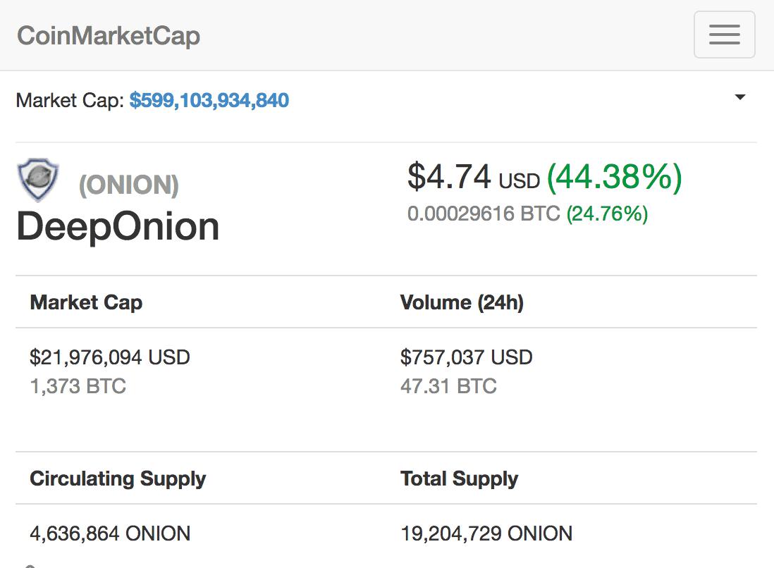 Deep Onion
