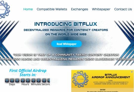 Bit Flux Airdrop