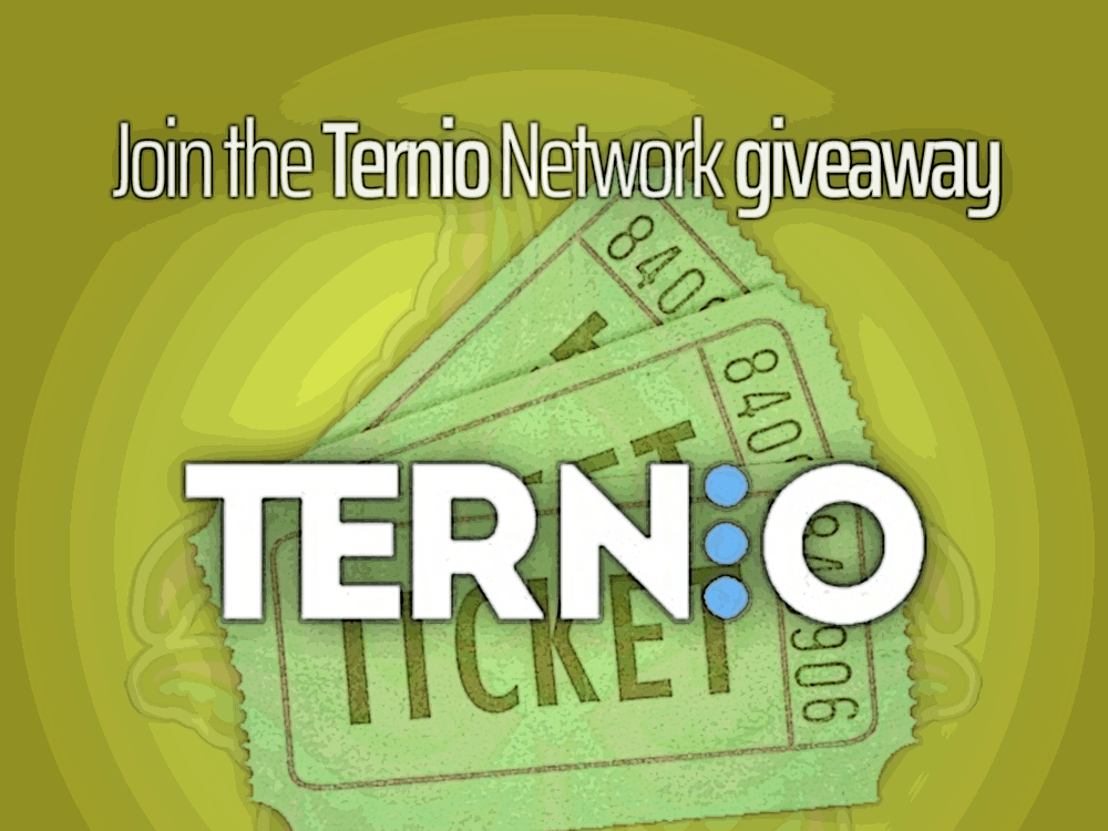 Ternio-Giveaway