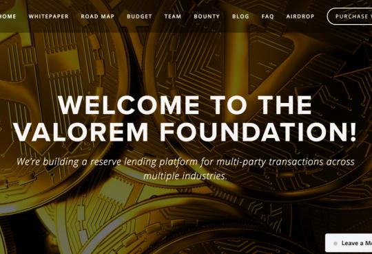 Valorem Foundation Airdrop