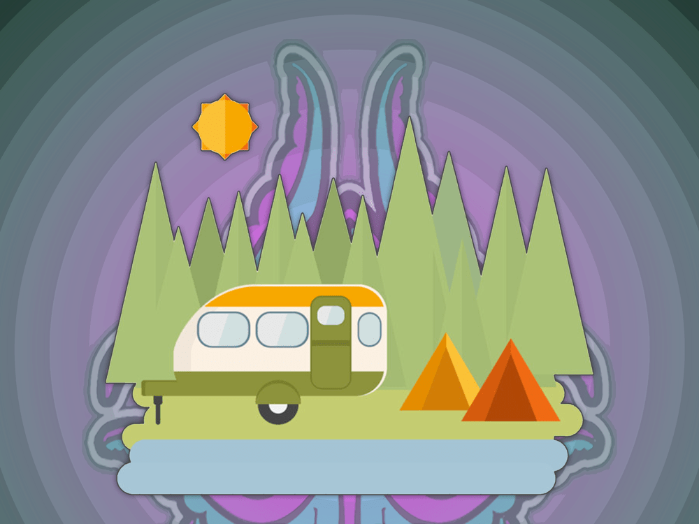 Camping,-Happiness,-Social-Media
