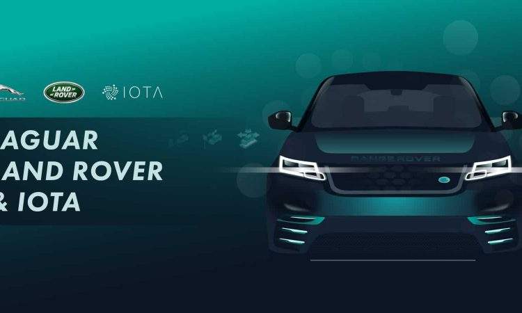 Jaguar Land Rover join IOTA