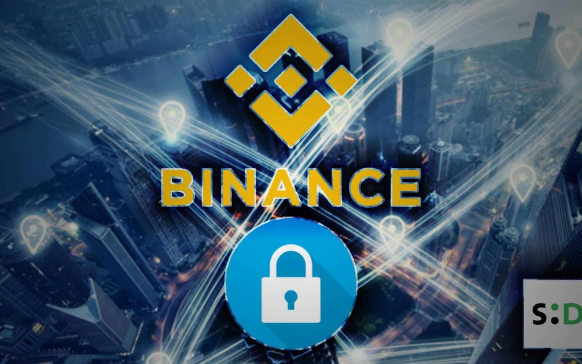 binance security update