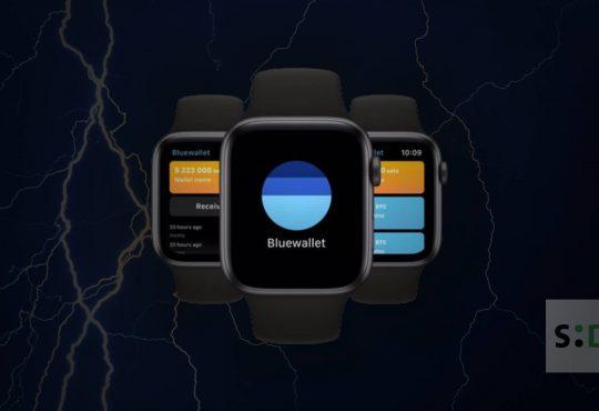 blue wallet apple watch