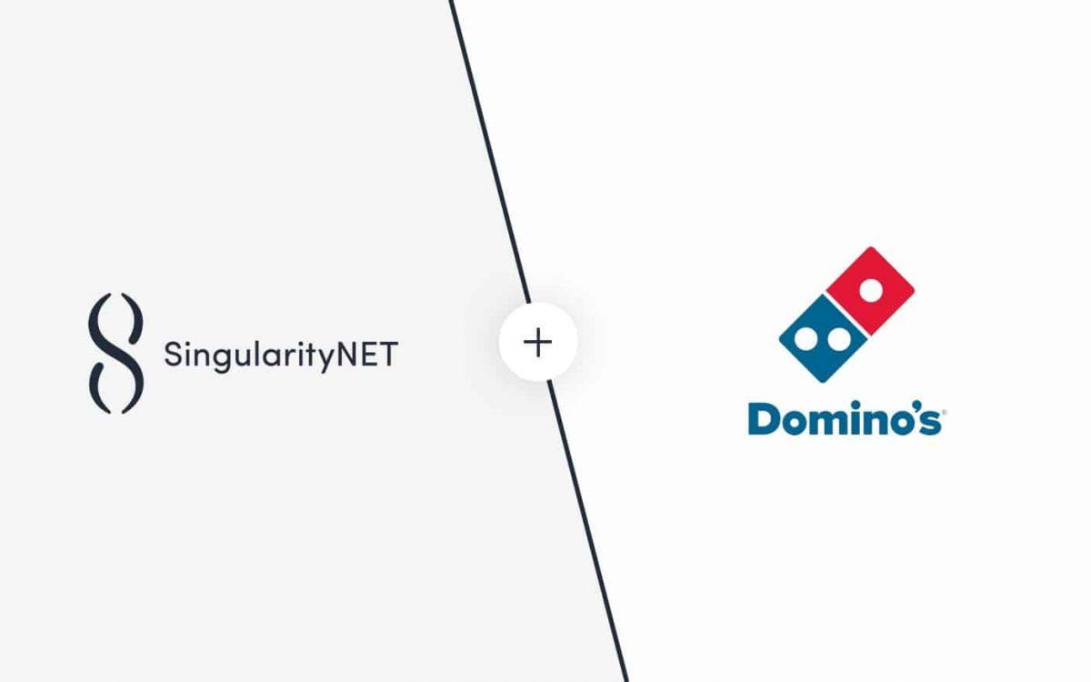 singularityNET Domino's partnership