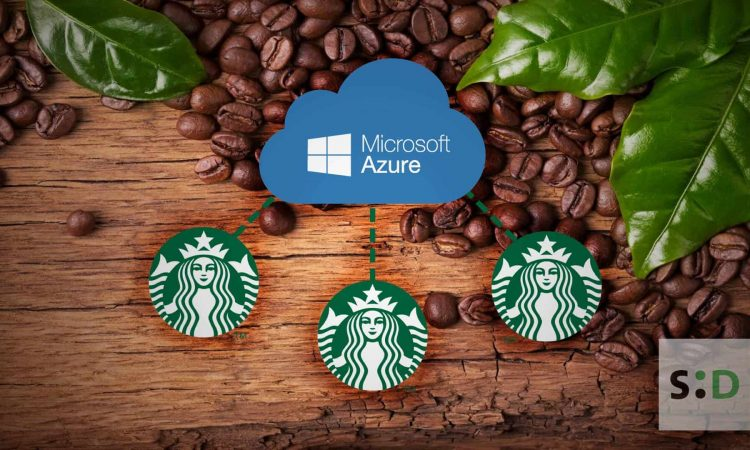 starbucks bean to cup blockchain