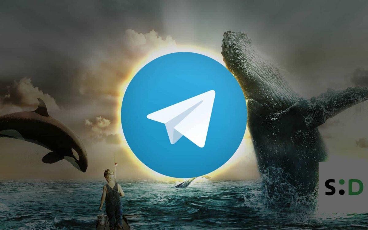 Telegram GRAM token sale via a whale