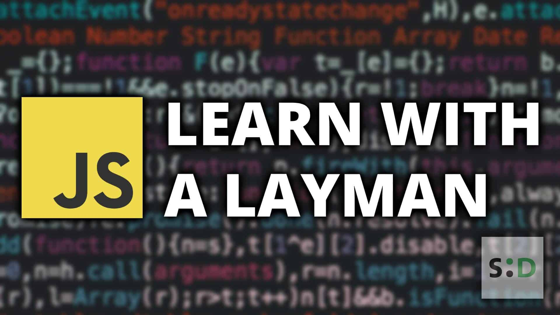 Learn With a Layman: An Introduction